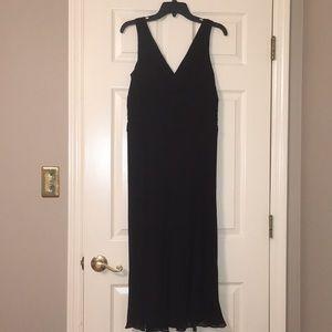 Black 100%silk cocktail dress